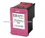 HP121XL Color (CC644H) Inkjet Cartridge