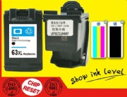 HP 63XL Remanufactured Black Ink Cartridge High Yield (F6U62AN)