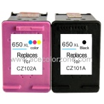 HP 650XL CZ101AE CZ102AE ink cartridge